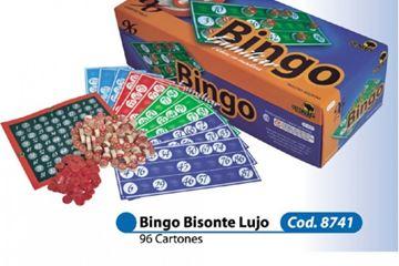 Imagen de Bingo Bisonte Lujo 96 Cartones