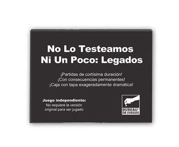 Imagen de NO LO TESTEAMOS NI UN POCO II - LEGADOS