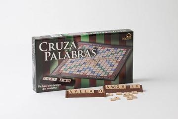 Imagen de Cruzapalabra Caja Fichas Madera