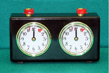 Imagen de Reloj Ajedrez A Cuerda Caja plastica