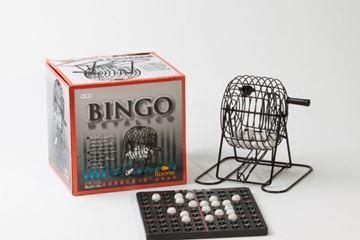 Imagen de Bingo Metalico Con 90 Bolillas