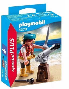 Imagen de PLAYMOBIL 5378 - PIRATA CON CAÑON
