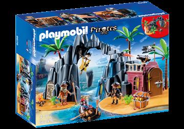 Imagen de Playmobil 6679 - La Isla Del Tesoro