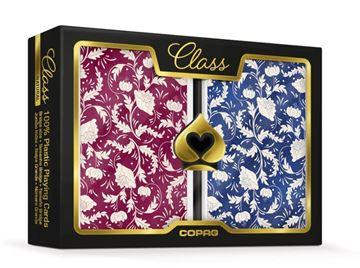 Imagen de NAIPE COPAG 100% PLÁSTICO 2x54 CLASS NATURAL