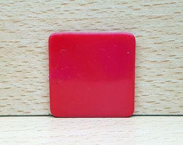 Imagen de Fichas cuadradas 35 mm x 100 Unidades ROJAS