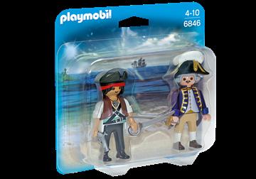 Imagen de Playmobil 6846 - Duo Pack - Soldado Y Pirata