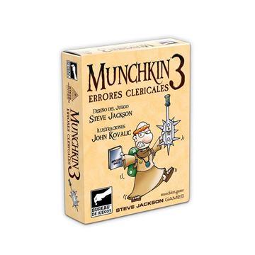 Imagen de MUNCHKIN 3: ERRORES CLERICALES