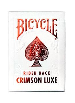 Imagen de Bicycle Metalluxe Red - Crimson Rider Back