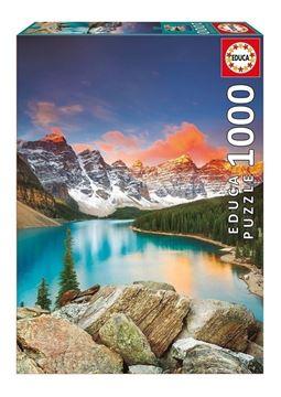 Imagen de Puzzle 1000 Piezas - Lago Moraine-Canada