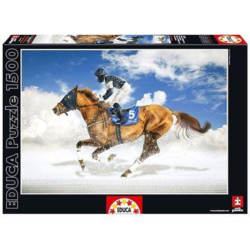 Imagen de Puzzle 1500 Piezas - Final de White Turf, Saint Moritz