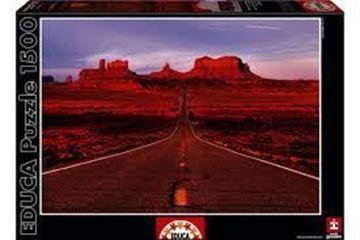 Imagen de Puzzle 1500 Piezas - Monument Valley Road