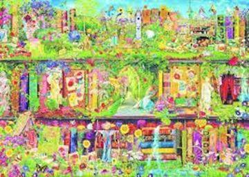 Imagen de Puzzle 1500 Piezas - El jardin secreto