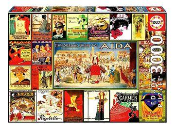 Imagen de Puzzle 3000 Piezas - Collage de Operas