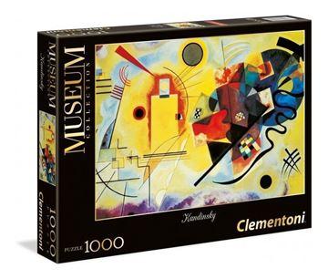 Imagen de Puzzle 1000 Piezas - Amarillo, Rojo y Azul puro - Kandisky