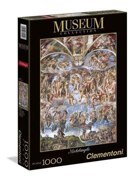 Imagen de Puzzle 1000 Piezas - El Juicio Final - Michelangelo