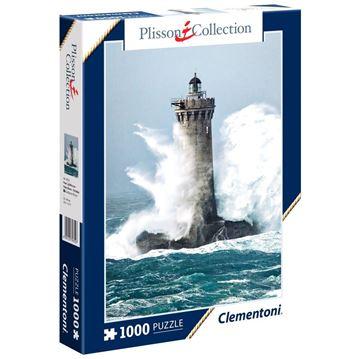 Imagen de Puzzle 1000 Piezas - Plisson Collection - Faro en Bretaña