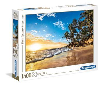 Imagen de Puzzle 1500 Piezas - HQC - Amanecer tropical