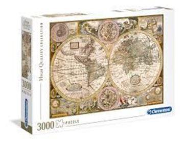 Imagen de Puzzle 3000 Piezas - HQC - Mapa antiguo