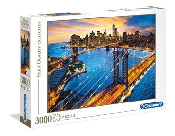 Imagen de Puzzle 3000 Piezas - HQC - Nueva York