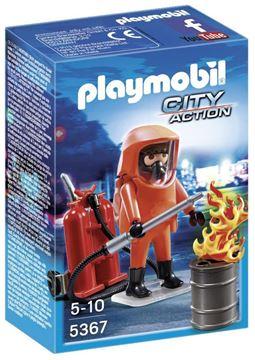 Imagen de Playmobil 5367 - Bombero Fuerzas Especiales