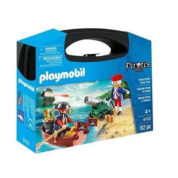 Imagen de Playmobil 9102 - Maletin Pirata Y Soldado