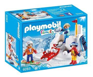 Imagen de Playmobil 9283 - Lucha De Bolas De Nieve