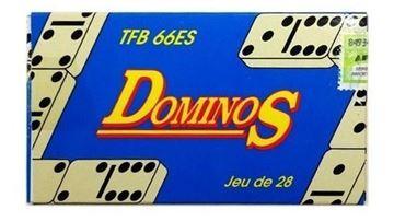 Imagen de DOMINO DOBLE 6 CHICO - TFB-66ES