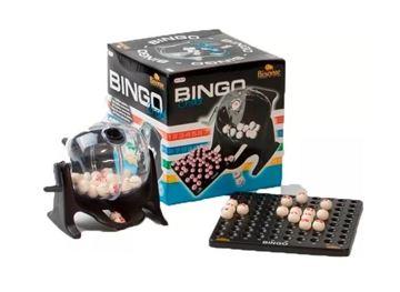 Imagen de Bingo Con Bolillero Transparente Con 90 Bolillas Plasticas